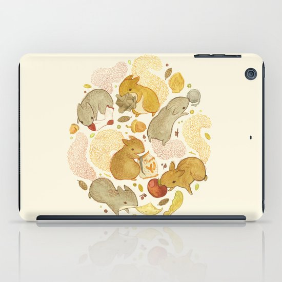 Things Squirrels Probably Shouldn't Be Eating iPad Case