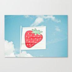 Strawberry Sky Canvas Print