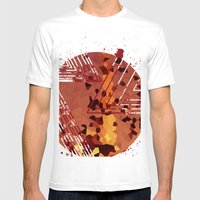 Polygons of a Photograph Mens Fitted Tee White SMALL