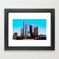 Pittsburgh Morning Framed Art Print