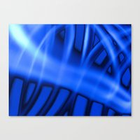 Nothing But Blue #3 Canvas Print