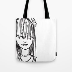 Monday face... Tote Bag