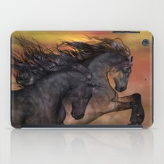 HORSES - On sugar mountain iPad Case