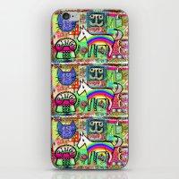 Ride a Rainbow Pony iPhone & iPod Skin