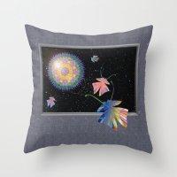 Slightly Altered Consciousness  Throw Pillow