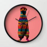 Hakuna Piñata Wall Clock