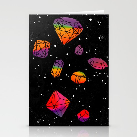 DIAMONDS IN THE SKY Stationery Card
