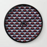 Buoy Pattern Wall Clock