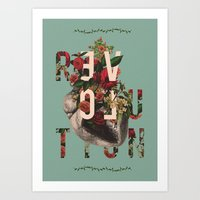 Revolution Baby Art Print