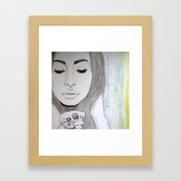 We Remain Embarrassed To… Framed Art Print