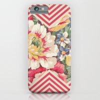 Floral Chevron iPhone 6 Slim Case