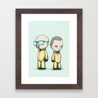 Plushing Bad Framed Art Print