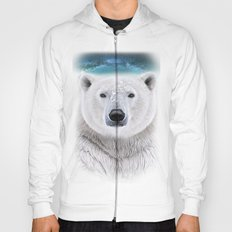 white bear Hoody