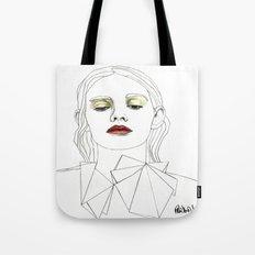 Red Lipstick Tote Bag