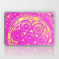 Power Of One: Hot Pink &… Laptop & iPad Skin