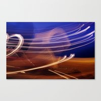 Vapour Trails Canvas Print