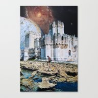 Canvas Print featuring Fortress by John Turck