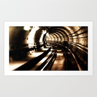 Tunnel  Art Print