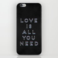 Love Is All You Need iPhone & iPod Skin