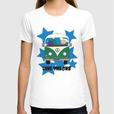 Ride the Bus - Boy Womens Fitted Tee White SMALL