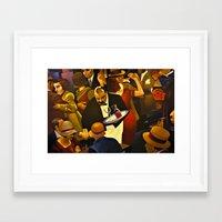 The Speakeasy Framed Art Print