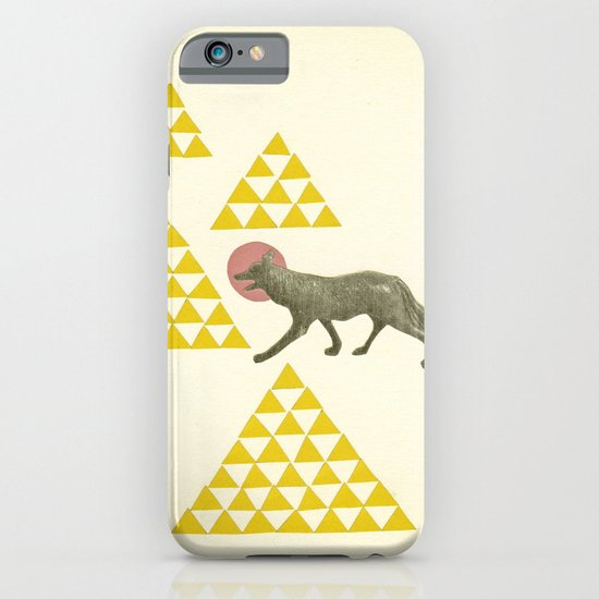 Mountain Wolf iPhone & iPod Case