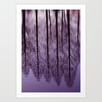 Water Trees - JUSTART © Art Print