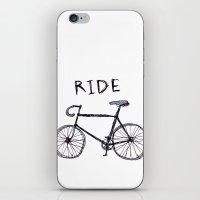 Bike Ride iPhone & iPod Skin