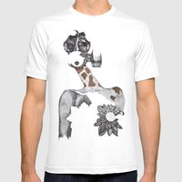 Anabelle Mens Fitted Tee White SMALL