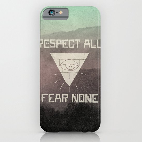 FEAR NONE iPhone & iPod Case
