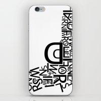 Type Gun iPhone & iPod Skin