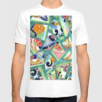 All The Colours Of The R… Mens Fitted Tee White SMALL