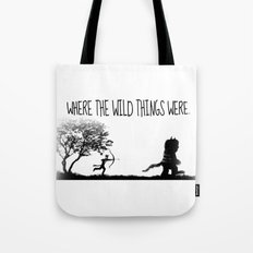 Where the wild things were. Tote Bag