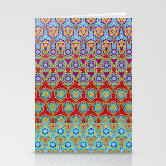 Kaleidoscope  Stationery Card