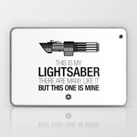 This Is My Lightsaber (V… Laptop & iPad Skin