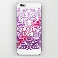 The White Tiger (Savage … iPhone & iPod Skin