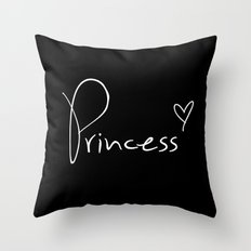 Princess Pillow Throw Pillow