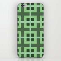 Pattern Green iPhone & iPod Skin