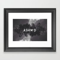 ASHWD #2 Framed Art Print