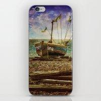Fishing Boat iPhone & iPod Skin