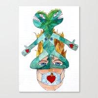 Future Denied - Futuro Negato Canvas Print