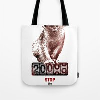 Save Golden Monkeys Tote Bag