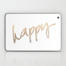 GOLD HAPPY Laptop & iPad Skin