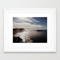 Cape Lookout Framed Art Print