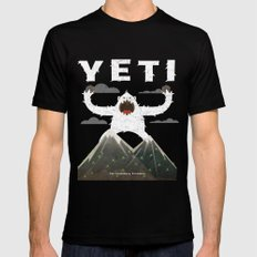 Yeti Mens Fitted Tee Black SMALL
