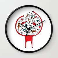 Holding It All Together Wall Clock