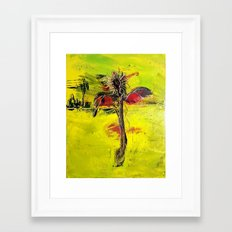 Salvation (Scarecrow in the Desert)  Framed Art Print