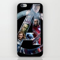 The Avengers 2 iPhone & iPod Skin