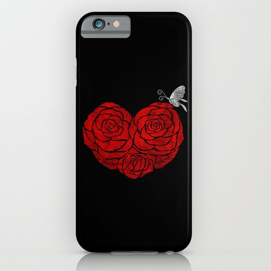 A Butterfly to be, a Rose to blossom... iPhone & iPod Case