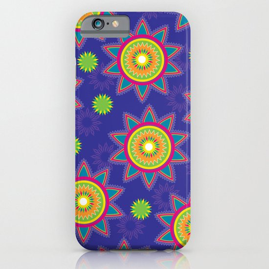 Moroccan Flower Purple iPhone & iPod Case